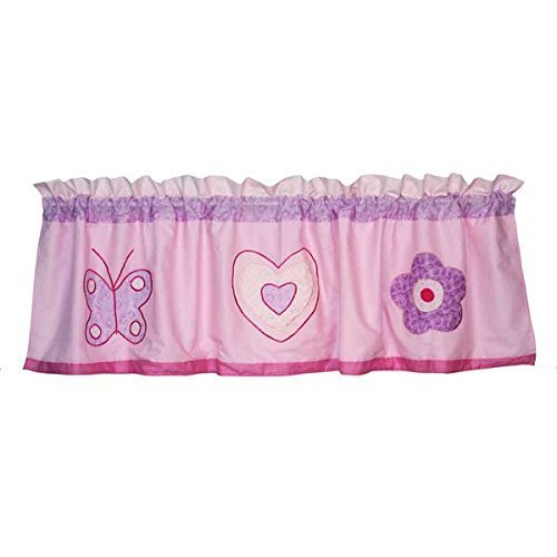 PEM America Spring Hearts Valance by My World