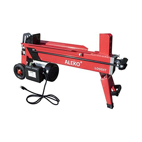 ALEKO LOGS5T Powerful 5 Ton Electric Hydraulic Portable Log Cutter Wood Splitter by ALEKO