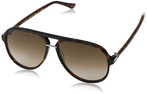 Gucci Pilot Shape Fashion Sunglasses, 58/14/140, Avana / Brown / - Gucci Avana Sunglasses