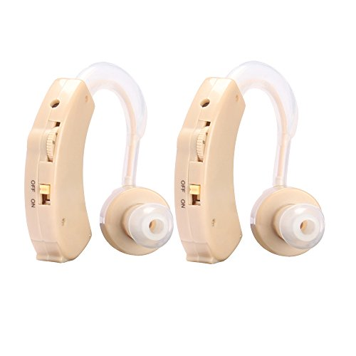 Sound Amplifier Hearing Aid Set of 2 - 8