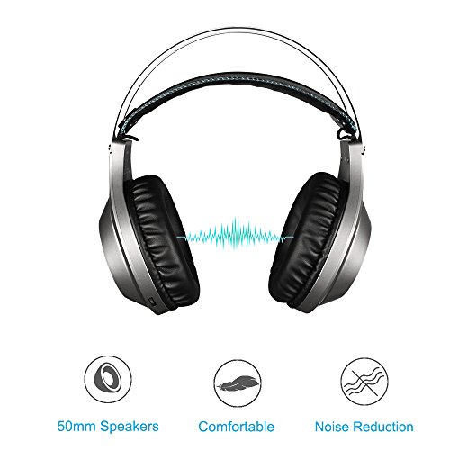 NUBWO N2 Gaming Headset for Xbox One PS4 Playstation 4, Headphones Computer  PC Mic Stereo Gamer Microphone for Skype Xbox one s Xbox 1 x Nintendo