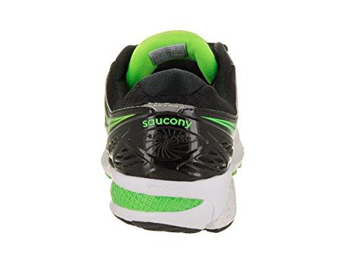 Saucony HURRICANE ISO 2 BLACK/SILVER/SLIME 10 US Descuento 2018 Unisex Aclaramiento Populares Colecciones A La Venta El Envío Libre 2018 Unisex N57V6