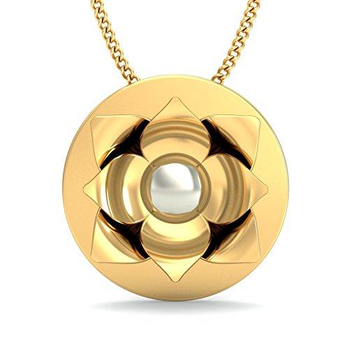 Belle Diamante 18KT Yellow Gold Pendant Women