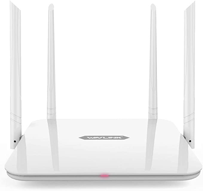 WAVLINK 1200Mbps Dual Band Smart WiFi 2 x 2 Antenas MIMO 5dBi Router 5G y 300Mbps a 2.4GHz / Alta Velocidad High Speed Range Extender / 5GHz Gigabit ...