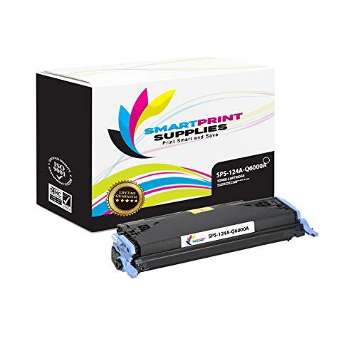 Smart Print Supplies Compatible 124A Q6000A Black Toner Cartridge Replacement for HP Laserjet 1600 2600 2605 Printers (2,500 - Toner Black 2605 2600 Q6000a