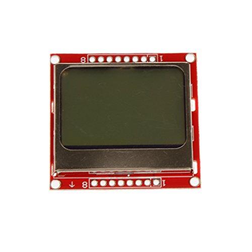 - Almencla 84x48 LCD Screen Module Red Back Light for Nokia 5110 Arduino Raspberry Pi