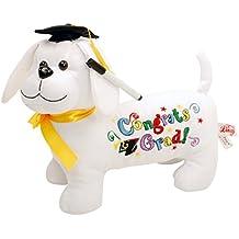 Graduation Autograph Dog with Marker - Congrats Grad! - 11 Inch