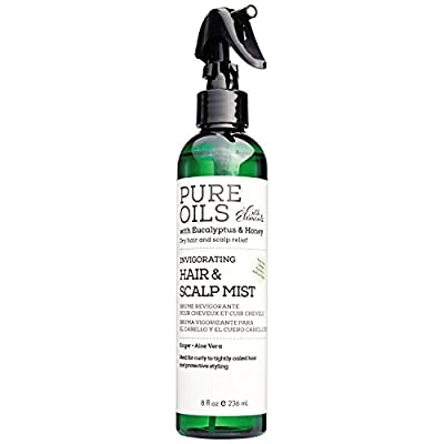 Pure Oils by Silk Elements™ Invigorating Hair & Scalp Mist