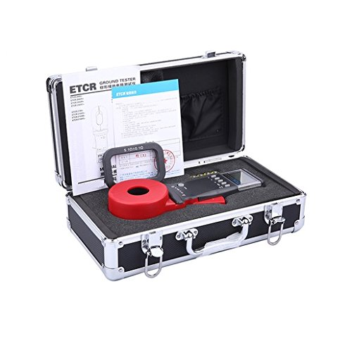 Earth Resistance Meter Tester ETCR2100+ 0.01-1200Ω,Clamp Opening Extent:32mm/1.26in (Earth Clamp)