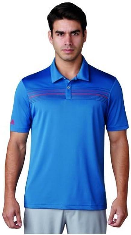 adidas Climacool Chest Print Camiseta Polo de Manga Corta de Golf ...