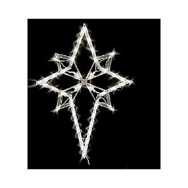 NEW CHRISTMAS LIGHTED STAR INDOOR OR ()