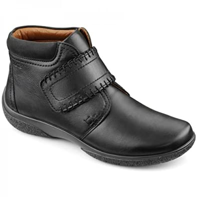 8f97b1d28cb2 Hotter Ladies Daydream Black Ankle Extra Wide Boot Black Size 4.5 ...