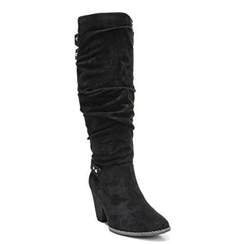 UPC 727679774697, Dr. Scholl's Women's Covet Slouch Boot,Black Microsuede,US 8 M