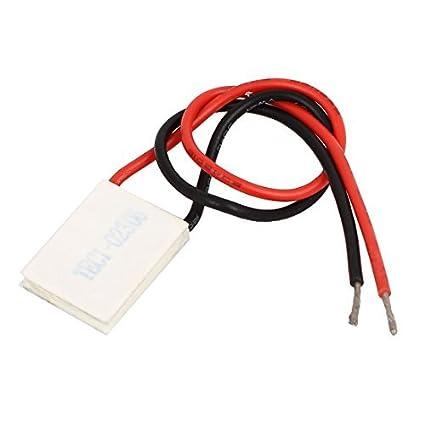 DealMux TEC1-02306 2.83V 6A 9.6W termoeléctricos módulo refrigerador refrigerar Placa Peltier