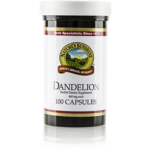 Nature's Sunshine Dandelion, 100 Capsules | Powerful Herb Supports Digestion, Nourishes The Liver, and Provides Urinary System Support