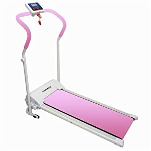 Confidence Fitness Electric Treadmill, Pink