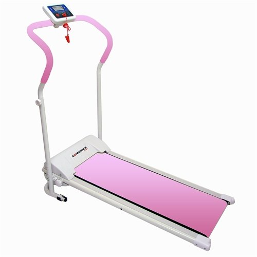 Confidence Fitness Electric Treadmill, Pink by Confidence Fitness