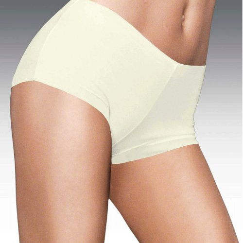 Maidenform Women's Comfort Devotion Boy Short Panty, Pearl, X-Large/8