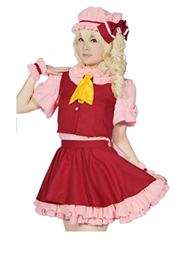 Cuterole Flandre Scarlet Cosplay Anime Touhou Project Costume Halloween Outfit