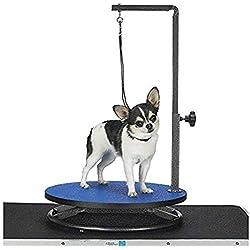 Master Equipment - Mesa de Aseo para Mascotas, Azul