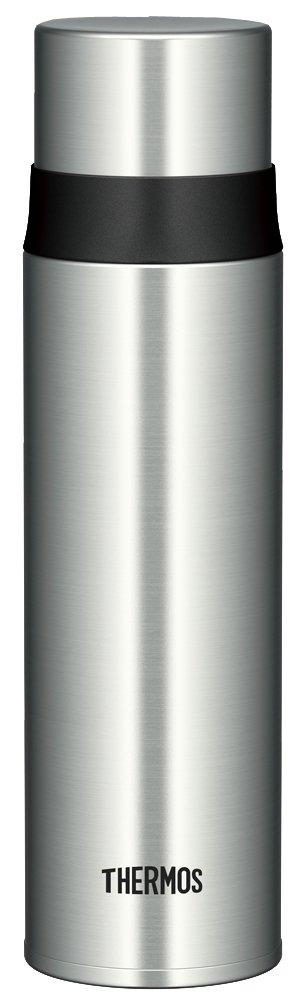 Thermos Stainless Slim Bottle 0.5L Stainless Black (FFM-500 SBK)