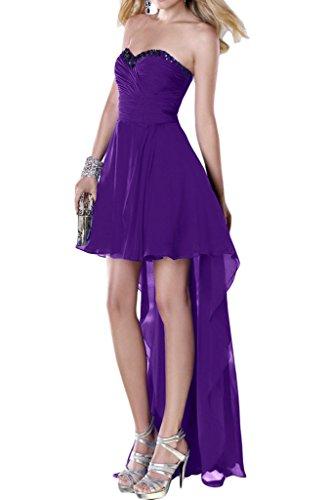 Ivydressing -  Vestito  - linea ad a - Donna viola 50