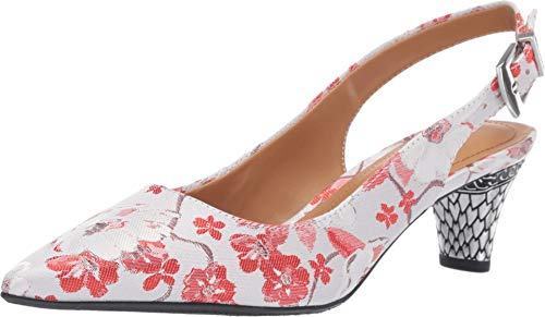 J. Renee Women's Mayetta Red/White Multi 11 M -