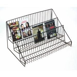 Black Wire Countertop Display Rack, 3 Tier