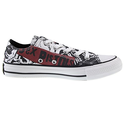 Converse Sneakers Chuck Taylor All Star C151195, Zapatillas Unisex Adulto, Blanco, 42 EU