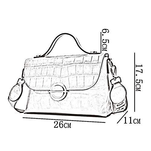 PU Cm La Messenger Bag Petit Sac 04 Main 5 Carré Femme Élégant À ZHWEI 17 Paquet Mode TS5614 Mme À Sac 26 Sac Bandoulière Décontracté 11 wqIXSUnA