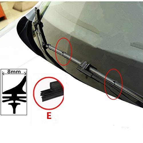 Wipers Car Wiper Blade Insert Rubber strip Refill for byd f3 f3r f-3 f0 s6 ti f6 f 3 g3 l3 s3 s7 g6 Ram Windscreen Wipers accessories - (Item Length: 22