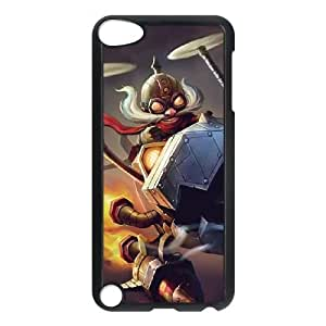 iPod Touch 5 Case Black League of Legends Corki EUA15981278 Phone Case Cover Customized DIY