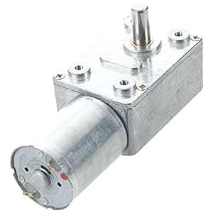 Motorreductor de Vástago de 6mm de 2 Clavijas de Velocidad Rotatoria de Salida de 3500/2 rpm - 2 Voltios