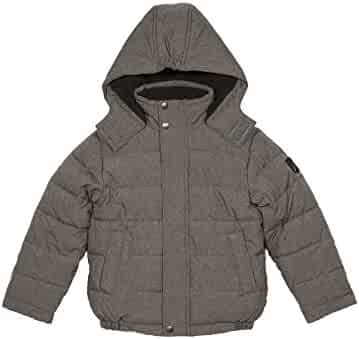 373cff0fd Nautica Big Boys' Water Resistant Signature Bubble Jacket with Storm Cuffs