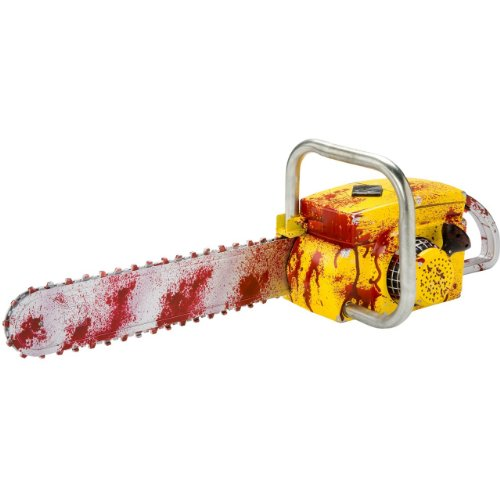 Halloween Saw Costume (Deluxe Animated Chainsaw Costume Accessory)