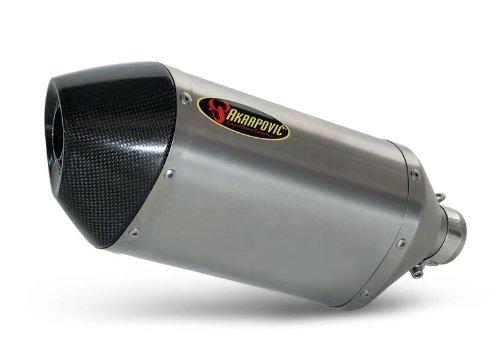 Akrapovic Slip-On - Hexagonal Titanium Muffler, Material: Titanium S-S10SO5-RT