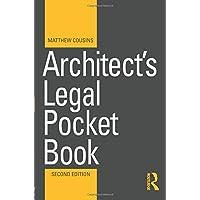 Architect's Legal Pocket Book (Routledge Pocket Books)