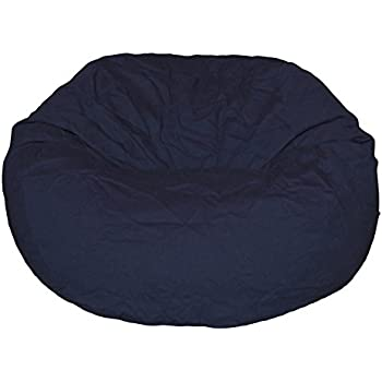 Ahh! Products Navy Organic Cotton Large Bean Bag Chair