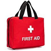 Full-Open First Aid Zippered Bag Empty Travel Rescue Pouch First Responder Storage Medicine Organizer for Emergency at…