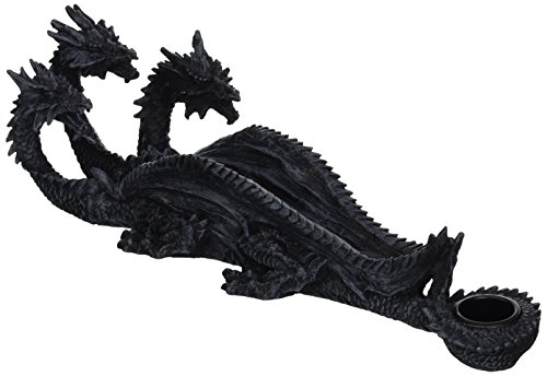 Simple Living Company Triple Head Mythical Dragon Incense Stick Burner ()
