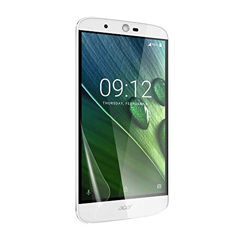 Celicious Vivid Plus Mild Anti-Glare Screen Protector Film Compatible with Acer Liquid Zest Plus [Pack of 2]