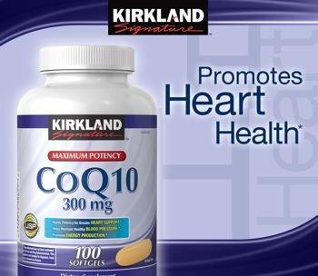 Kirkland Signature CoQ10 La puissance maximale (300 mg), gélules 75-Count