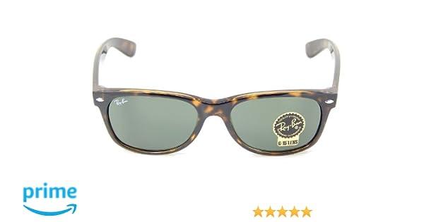 511a00f025d98 Amazon.com  New Ray Ban RB2132 902L Tortoise G-15 XLT 55mm Sunglasses  Shoes
