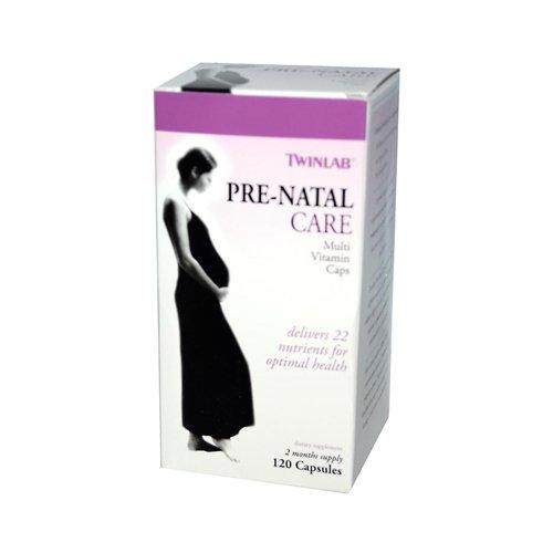 Twinlab Prenatal Care - Twinlab Pre-natal Care Multi-vitamin - 120 Capsules