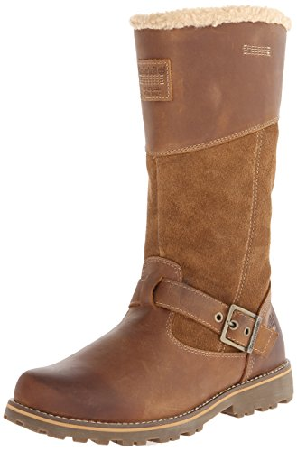 Asphalt Trail Tall Boot (Timberland EK Asphalt Trail Sky Haven Boot (Toddler/Little Kid/Big Kid),Brown,6 M US Toddler)