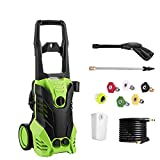 Best Electric Pressure Washers - PaPafix 3000 PSI High Pressure Washer Electric Power Review