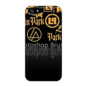 Best Hard Cell-phone Case For Iphone 5/5s With Customized Realistic Linkin Park Pictures AaronBlanchette