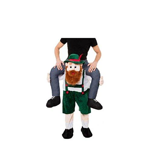 [2016 Carry Me Beer Guy Ride Mascot Fancy Dress Mascot Costume Halloween Christmas] (Bavarian Guy Adult Plus Costumes)