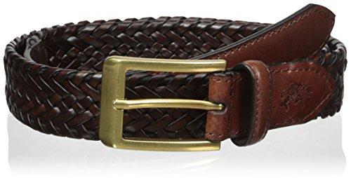 Braid Leather Bridle - Men's Belt, 30mm Wide, Braided, size 38