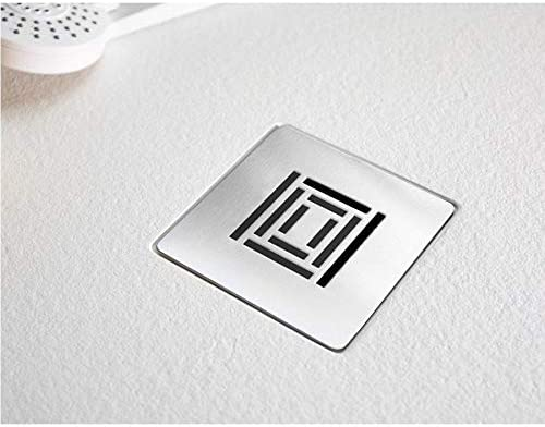 Plato de ducha extra plano LOGIC superficie pizarra, semicircular, color blanco: Amazon.es: Bricolaje y herramientas